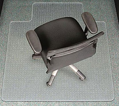 OfficeCHAIR MAT Carpet ANTI STATIC Computer Safe 1350mm X 1140mm Vinyl EBay